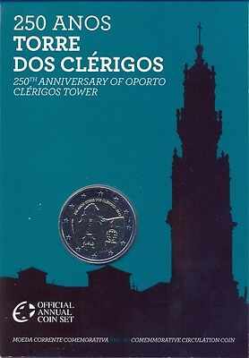 Portugal Portogallo Off Coffret Bu Com 2013 2 € Tour Des 2 Clercs