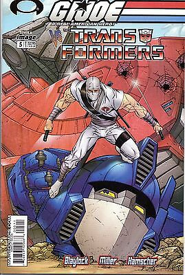 G.I. Joe vs. The Transformers Vo1 1. (DDP) 5 Cover A