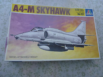 Italieri No 172 A4-M Skyhawk Model Kit 1:72 Boxed and unmade