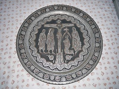 Religious wall plate