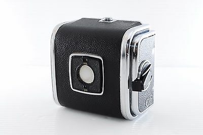 Hasselblad A12 Type II Magazine Film Back Chrome [Excellent] F/S From Japan