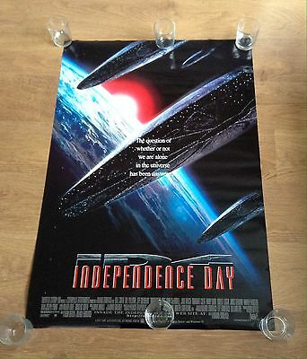 """Original INDEPENDENCE DAY single Sided US One Sheet 26"""" X 40"""" 1995 Collectable"""