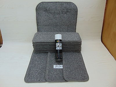 Stair pads / treads 14 off  and  1  Big Mats with a FREE can of SPRAY GLUE 2030