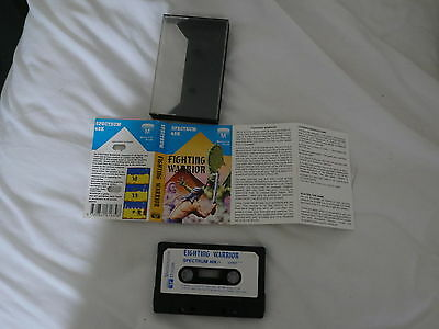 Sunday Flood Of Quality ZX Spectrum Software:- Melbourne House Fighting Warrior