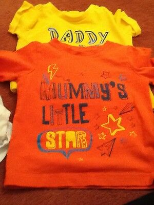 2 Mothercare 12 18 mths t shirts