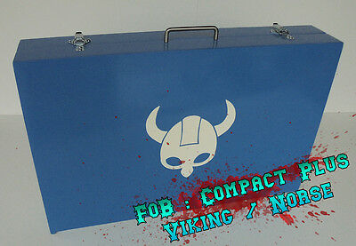 Blood Bowl Portable Field - Field 'o Box Compact Plus - Norse / Viking Themed
