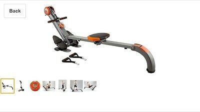 Body Sculpture BR3010 Rowing Machine And Home Gym