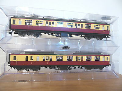 Hornby rake BR Hawksworth Coaches 1st class brake + compartment - R4408 , R4405A
