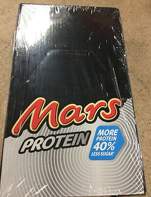 MARS PROTEIN BAR x 18 BARS - HIGH PROTEIN BARS SNACKS - 10g PROTEIN EACH £27.99