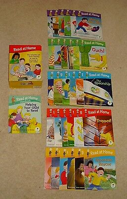 Oxford Reading Tree Biff Chip And Kipper, Read At Home 31 Books Box Set