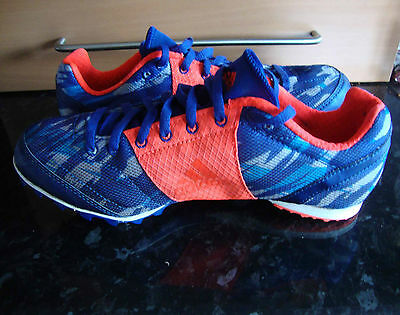 Mens/Boys  Adidas XCS 4 - Cross Country Running Spikes, Size UK6.5