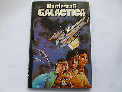 Battlestar Galactica Hardback Book, 1978 Grandreams
