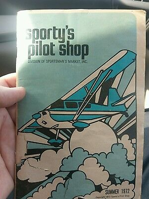 SPORTY'S PILOT SHOP Catalog Summer 1972 Sportsman's Market