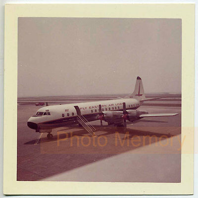 Eastern Airlines Lockheed L-188A Electra - Vintage Photo, Aircraft Spotting
