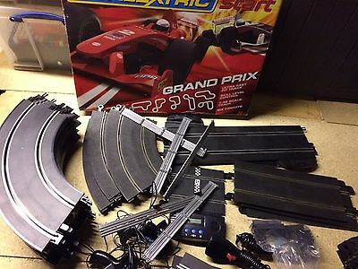Scalextric Set Huge Collection Including 18 Cars And Loads Of Track/job Lot