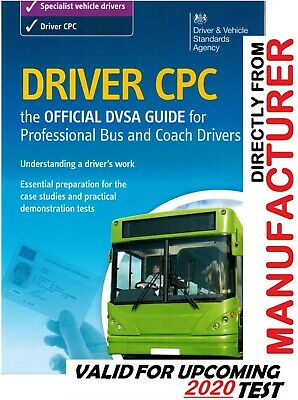 Driver CPC: DVSA Guide for Professional Bus and Coach Drivers 2019 test @cpcBs