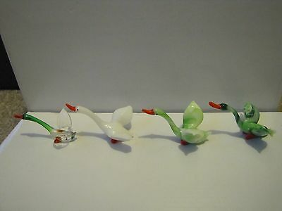 Glass Geese