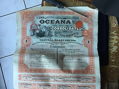 OCEANA CONSOLIDATED COMPANY , Action