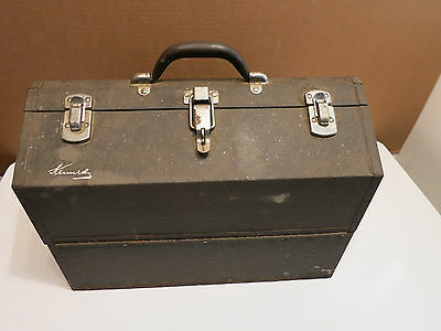 Vintage Kennedy Tool Box Chest Style No. 1018-9394 Metal Industrial Cantilever