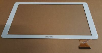 Blanc: Écran tactile touch screen digitizer white Archos 101E Neon