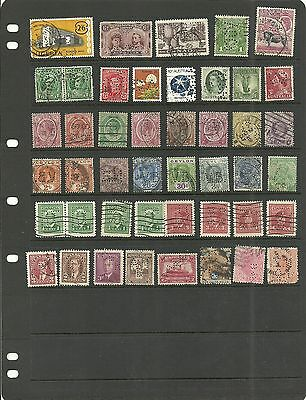 Perfins.      Commonwealth    45    Different Perfins