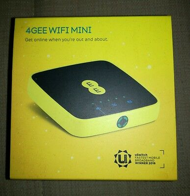 EE Mini 4G / 3G wifi MiFi mobile Broadband  / Router Dongle - with USB Charging