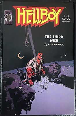 Hellboy The Third Wish #1-2 Dark Horse Comics
