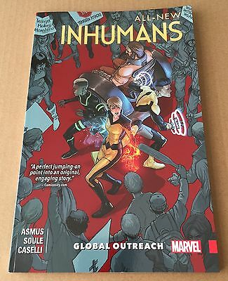 All-New Inhumans – Volume 1 – Global Outreach - Graphic Novel Paperback