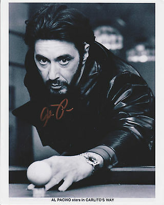 Al Pacino 8x10 Signed Photo, Scarface, UACC related (please read description)
