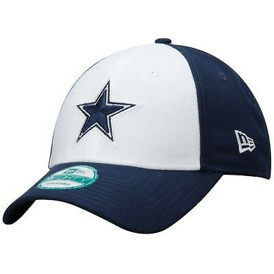 Dallas Cowboys New Era 9Forty Adjustable Cap - Navy/White