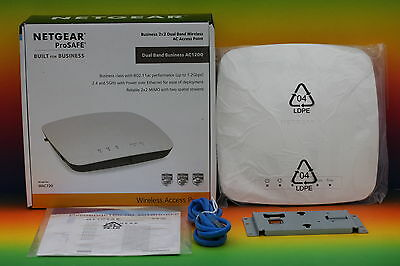 Netgear WAC720 2x2 Dual Band 2.4 + 5 GHz WLAN-N Wireless Access Point PoE Router