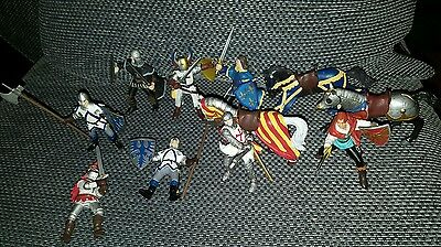 Papo Figure - Knights, Horses and Guards Joblot Collection Bundle Set
