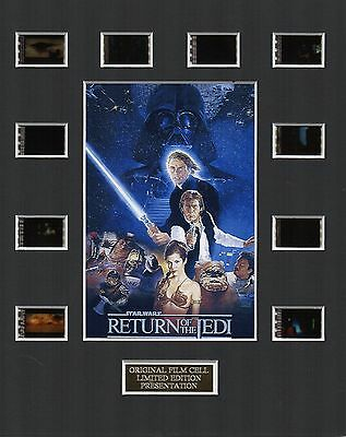 Star Wars Return of the Jedi 35mm Film Cell Display