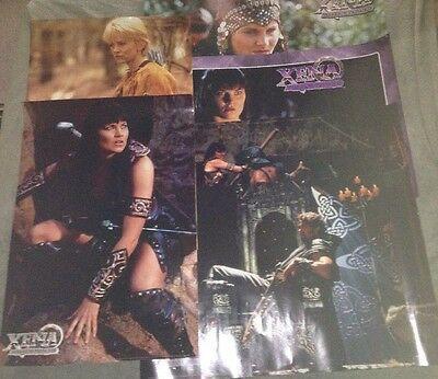 Xena Warrior Princess Collector's Posters Seasons 1-5 Rare Plus Extra Poster