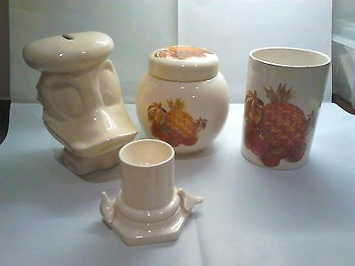 Small lot of old English Pottery items/used/vintage
