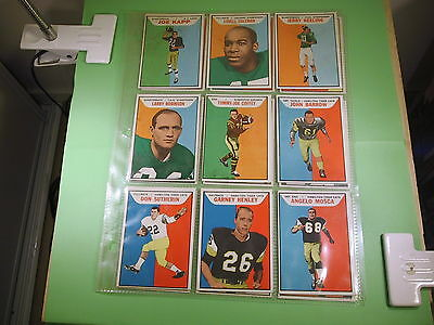 1960's  Lot Of 18 Football Cards   #8