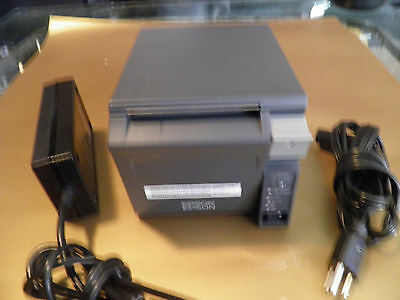 Epson TM-T70II   Point of Sale Thermal Receipt Printer M296A  Ethernet TM-T70