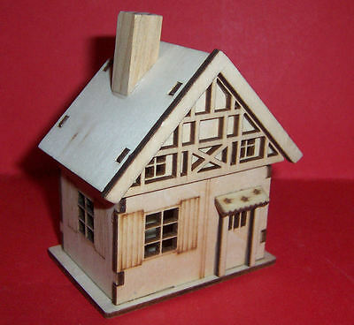 Wooden Dolls House For The Dolls House Nursery