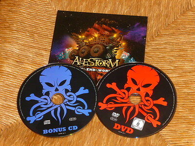 "CD + DVD  ALESTORM  ""Live at the end of the world"" Napalm Records NPR 511 (2013)"