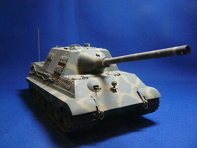 1/35 Scale Jagd Tiger SDKFZ 186 assembled painted model kit WW2 German