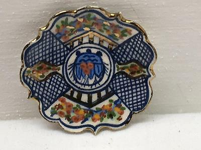 Artisan Deborah McKnight Lynne Collins LOTUS IMARI Plate Dollhouse Miniature