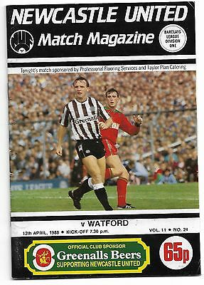 Newcastle United Programmes from 1987/88
