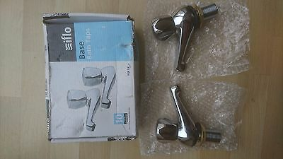 iflo base bath taps, bathroom, solid brass with exceptional chrome finish