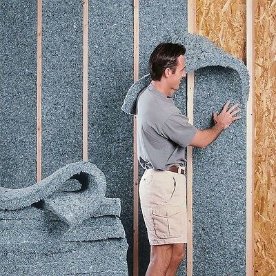 UltraTouch 23 in. x 48 in. R30 Denim Insulation (8-Bags) Walls Floors Ceilings