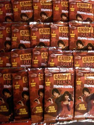 Camp Rock Trading Cards * 20 Packs