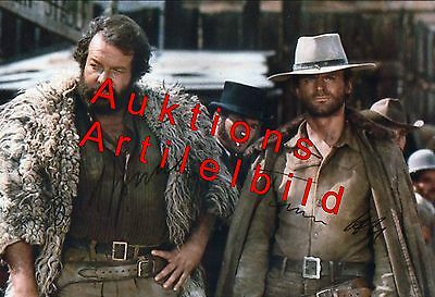 ☆☆ Bud Spencer & Terence Hill ☆☆ Foto mit Unterschrift ☆☆