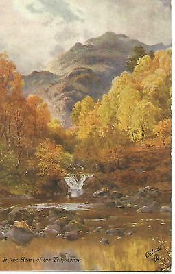 "3.5"" by 5.5"" In the Heart of the Trossachs Stirling Unfranked Postcard"