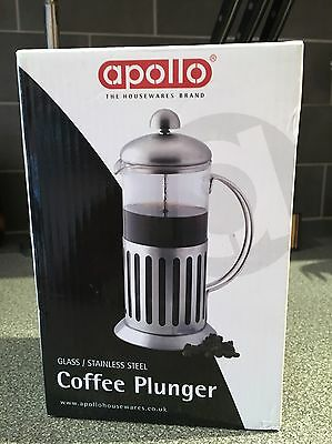 Apollo Coffee Plunger Stainless Steel Kitchen Accessory
