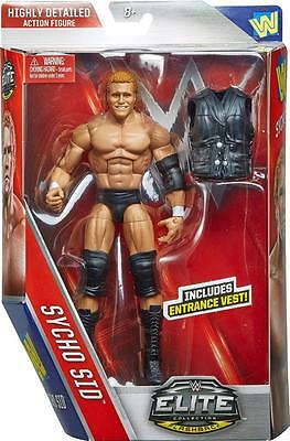 Sycho Sid Wwe Mattel Elite Series 39 Brand New Action Figure Toy - Mint