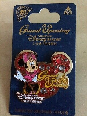 Shanghai Disney Pin - Grand Opening - Minnie Mouse - Limited Release